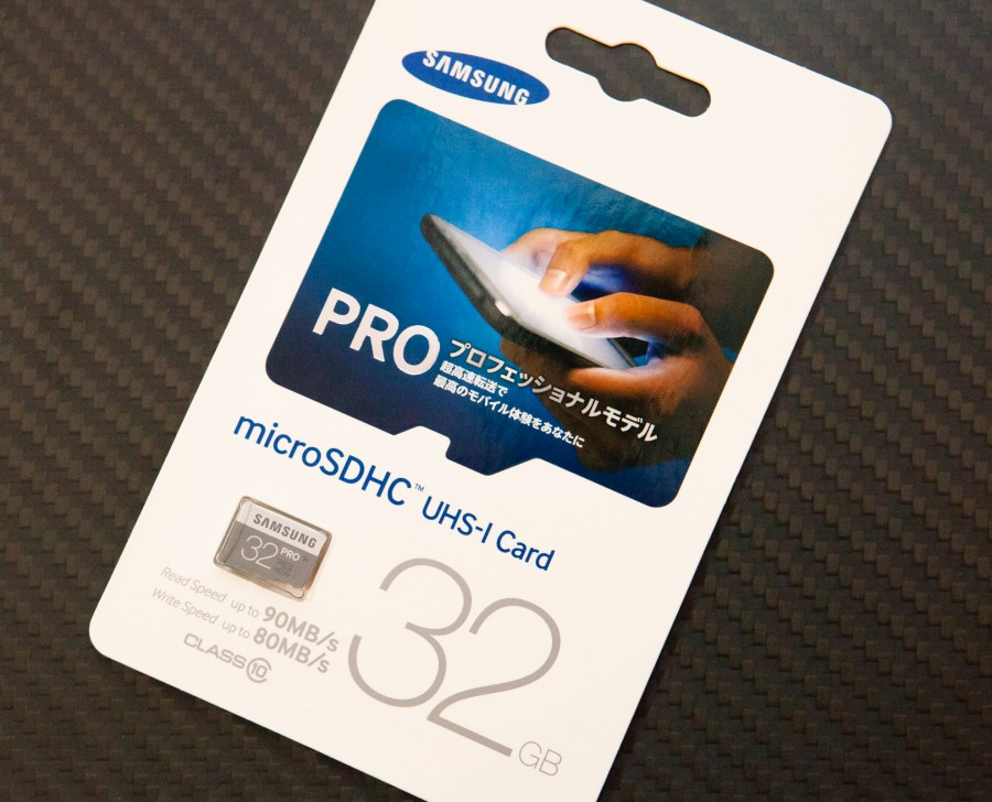 samsung microSD Pro-4